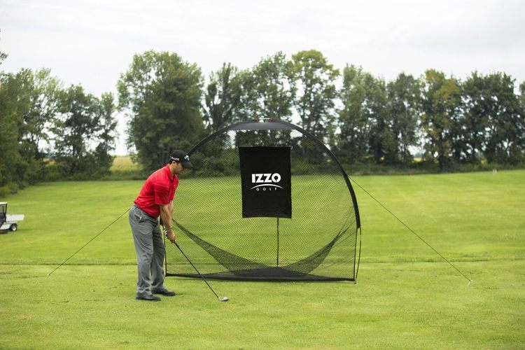 Izzo Golf Tri-Daddy Hitting Net