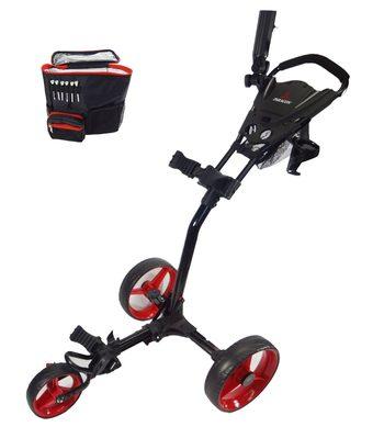 Paragon 3-wheelie Folding 3 Wheel Golf Push – Pull Cart