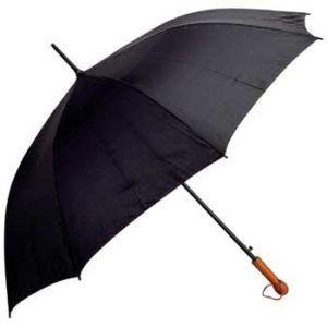 All-Weather Elite Series 60 inch Black Auto Open Golf Umbrella