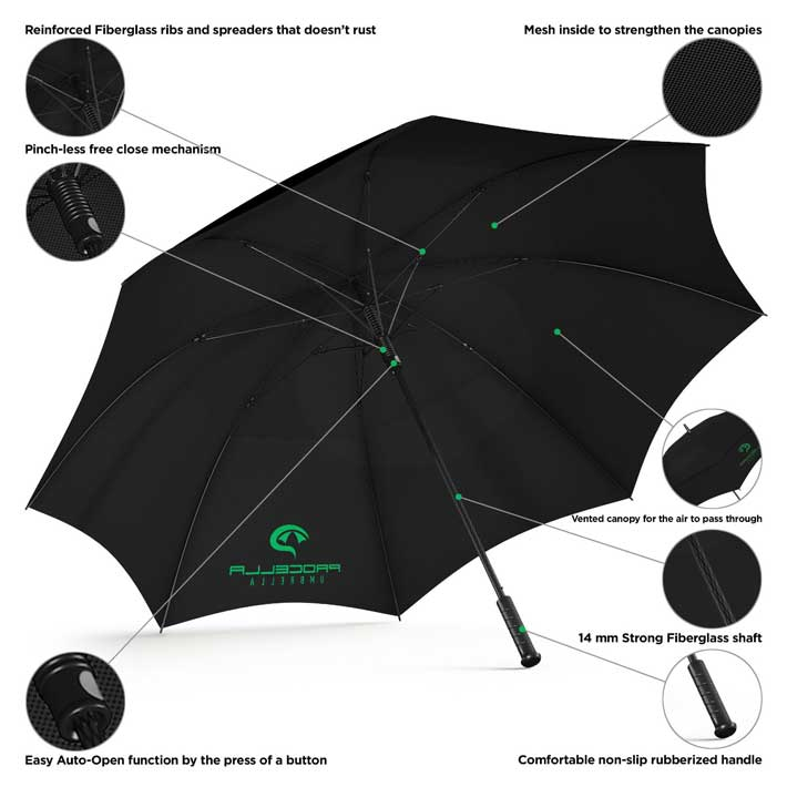 best golf umbrellas