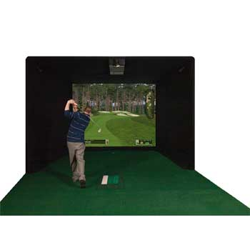 ES9000 Par T Golf Indoor Golf Simulator