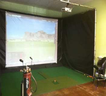 Personal Pro TCG Ultimate Golf Simulator System