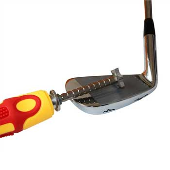groovemaster adjustable golf groove sharpener