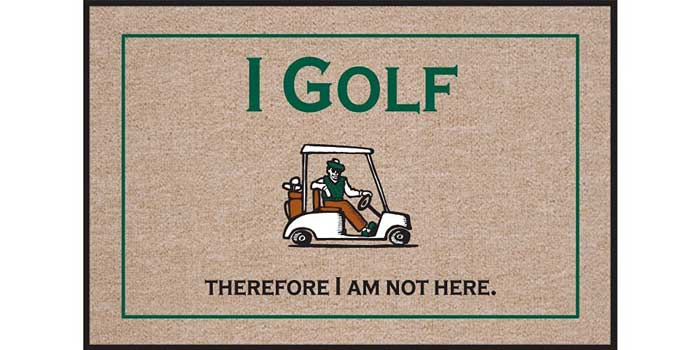 i-golf-therefore-doormat