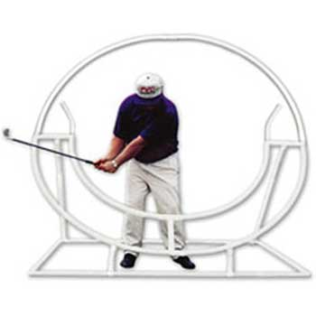 golf swing plane trainer
