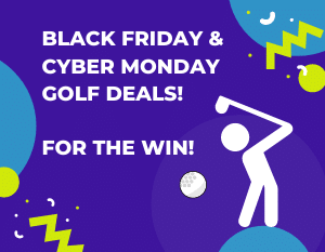 black Friday cyber Monday golf deals