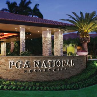 PGA National Entrance