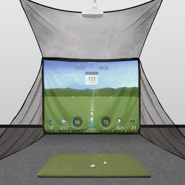 HomeBay Golf Simulator Hitting Enclosure