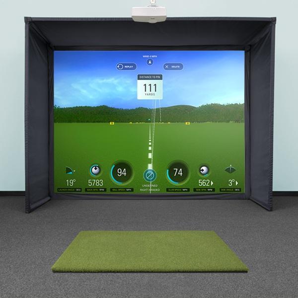 SwingBay Golf Simulator Screen & Enclosure