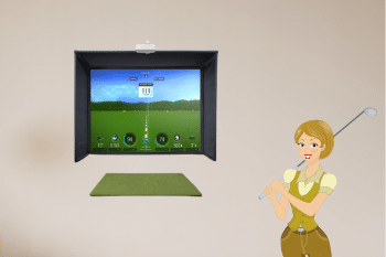 Best Golf Simulator Screens and Enclosures